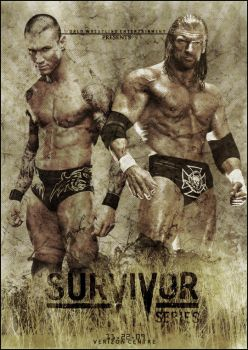 WWE Survivor Series poster. by ZT0