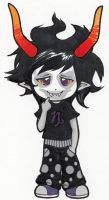 Chibi Gamzee by rose-star