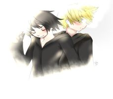 358 by 2 xion roxas by fireartist12