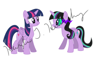 Twivine and Twilight Good Friends by kaylathehedgehog