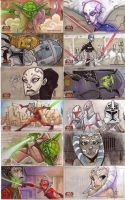 Clone Wars Season 1 cards : 02 by JeremyTreece