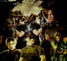 Leon S Kennedy-Best Agent Ever! by black-cat010