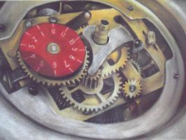 Gears of a clock by Celtic-balverine