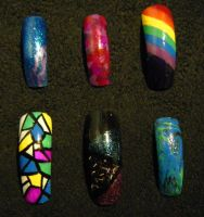 Nail Set 1 by Kelly-Amber