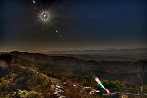 HDR Solar Eclipse by xraystyle