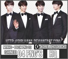 Pack Png #02 -Minho [SHINee] by GirlHana