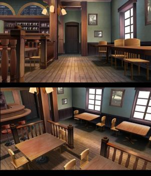 MMD rabbit house style stage LIMITED DOWNLOAD by Hack-Girl