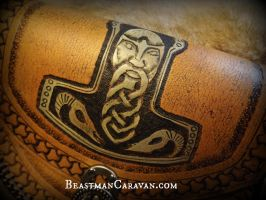 Mjolnir Pouch by The-Beast-Man