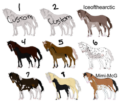 Mare Foal Auction OPEN by LazyOrchardAdopts