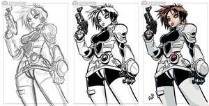 Iria 3 Steps - Slot Commish by EryckWebbGraphics