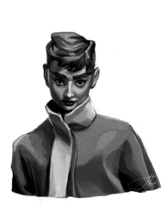 50s Nostalgia Test Audrey by JohntheMurray