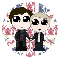 SH and JW_union Jack by CircusMonsters