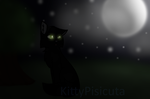 Gazing At The Moon by KittyPisicuta