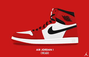 Air Jordan I 'Chicago' by DCrossover11
