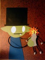Hatpire and the Robot by Hatpire
