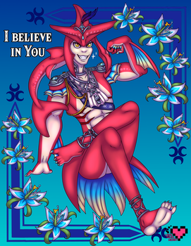Prince Sidon believes in You by ladypixelheart