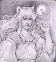 Inuyasha in Semirealism by marvioxious89
