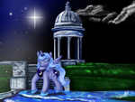 Luna Temple by Silnat
