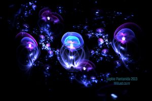 Jellyfish Field Fractal by Princess-Suki-W