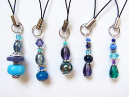 Phone Charms by VioletRosePetals