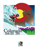 SkillsUSA Pin Design 2 by CrystalWolf953