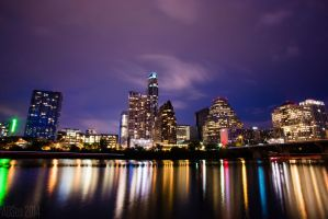 Reflections Of Austin by AndrewCarrell1969