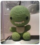 WIP Milo the Dino by knit-knit-noy-noy