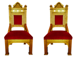 Pair of Chairs Clear-Cut by WDWParksGal-Stock
