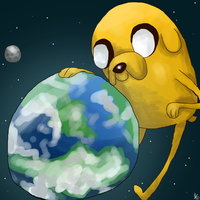 Jake in Space by PickledCandyPants07