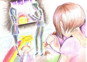 this crayon world of mine by mai-RAM
