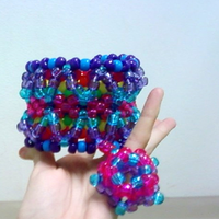 Rainbow Cuff by never-and-never