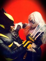 Black Cat meets Wolverine by Suki-Manga