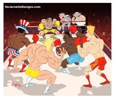 Rocky vs. Everybody! by DeJarnette