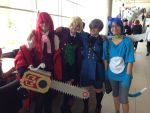 Black Butler Group (and happy) by Radioactive-buttrfly