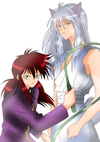 Kurama and Youko Kurama by FreddyKruegerFan12