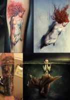 Some Tattoos by nina-Y
