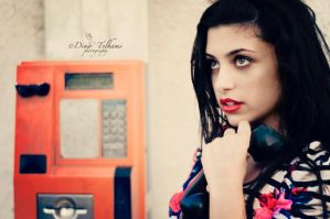 Telephone by Dina90T