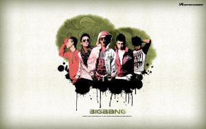 Big Bang is... green? by Aki-likes-your-ART