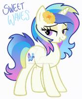 Sweet Waves - MLP Adoptable Auction - SOLD by MonkFishyAdopts