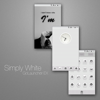Simply White by Flamgodian