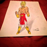 Broly Legendary S.S. 3-D by OG7