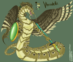 AR Vhendetta the Spotted Hissi by razrroth