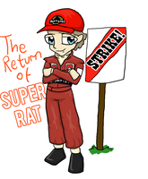 The Return of Super Rat by greenlikethesky