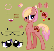 Sweet sauce ref sheet: for kalley Jo by thorad11