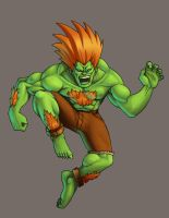 Blanka coloured by Jiggeh