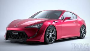 Toyota FT-86 II WIP3 by The-IC