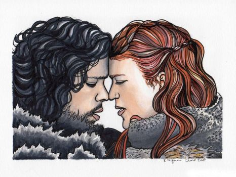 You Know Nothing, Jon Snow by MyOpenSketchbook