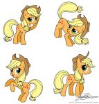 Applejack sketches by Jrenon