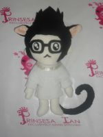 SUPER JUNIOR HEECHUL CHIBI DOLL WITH TAIL by prinsesaian