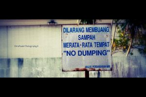 No Dumping by ChristopherFowler